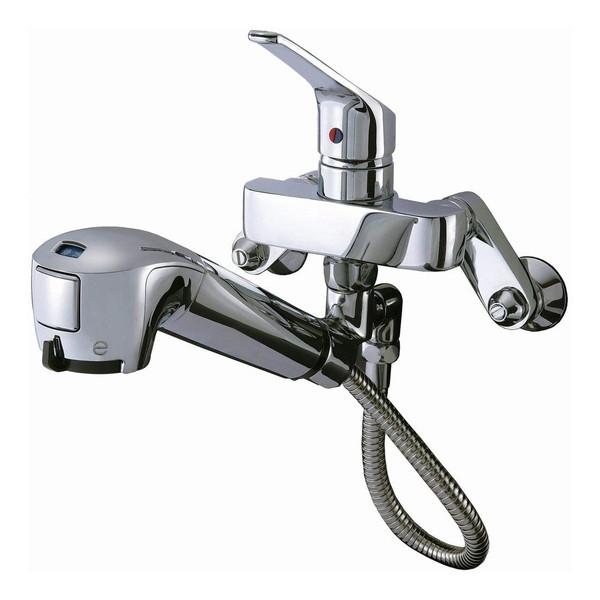 【送料無料】タカギ JL136MK-03 みず工房 エコシリーズ [蛇口一体型浄水器 壁出し混合水栓(引出型) 寒冷地用]