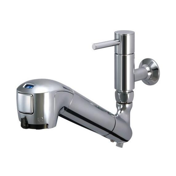 タカギ JL146AK-02 みず工房 エコシリーズ [蛇口一体型浄水器 単水栓(固定型) 寒冷地併用]
