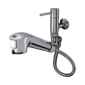 タカギ JL146MK-03 みず工房 エコシリーズ [蛇口一体型浄水器 単水栓(引出型) 寒冷地用]
