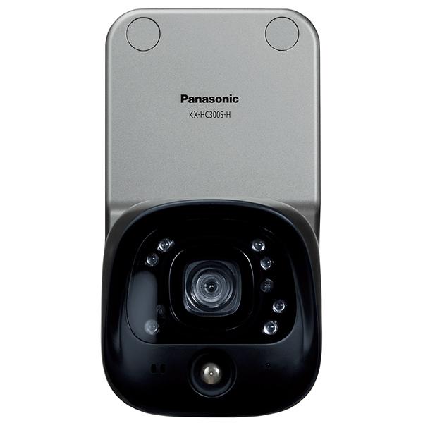 【送料無料】PANASONIC KX-HC300S-H メタリックブロンズ スマ@ホーム システム [屋外バッテリーカメラ]