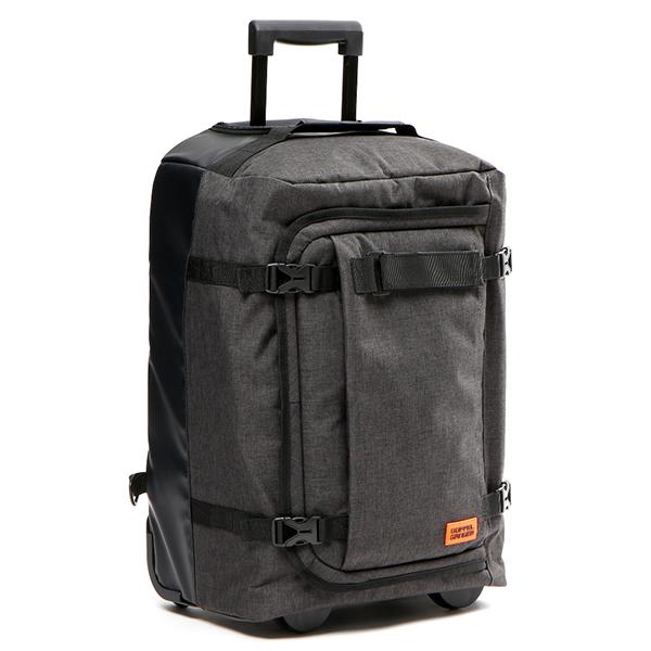 【送料無料】DOPPELGANGER DCB471-GY グレー×ブラック×オレンジ [フォルダブルスーツケース]