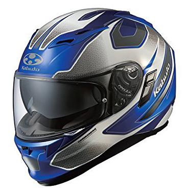 【送料無料】OGK KABUTO KAMUI2 STINGER ブルーホワイト XL [フルフェイスヘルメット (オンロード用)]