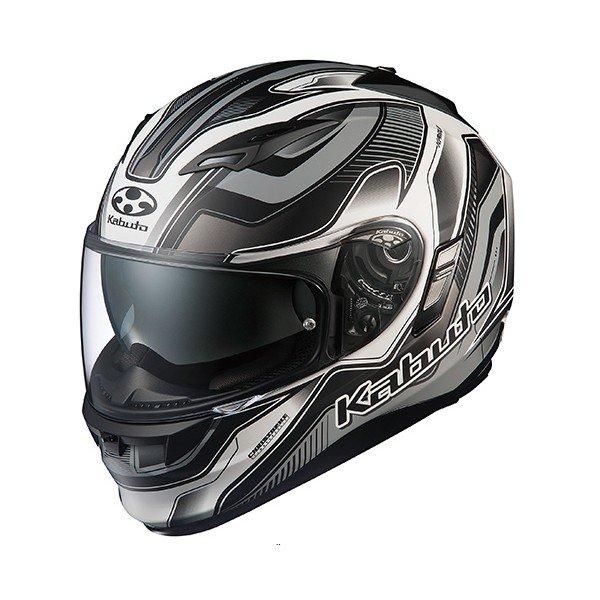 【送料無料】OGK KABUTO KAMUI 2 HAMMER フラットブラックシルバー XL [フルフェイスヘルメット]