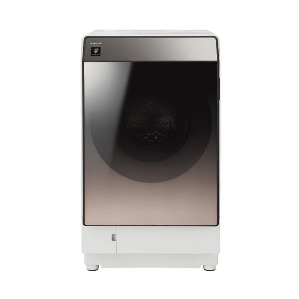【送料無料】SHARP ES-U111-TL ブラウン系 [ドラム式洗濯乾燥機 (洗濯11.0kg/乾燥6.0kg) 左開き]