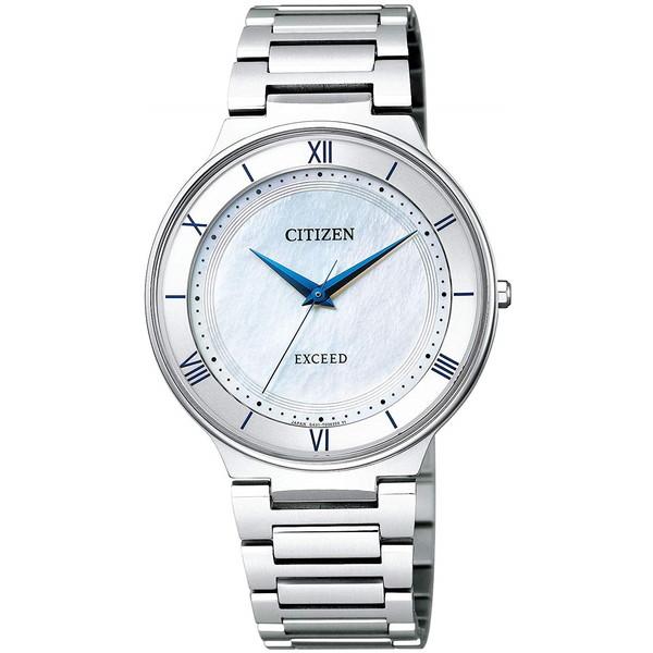 CITIZEN(シチズン) AR0080-58A EXCEED [エコ・ドライブ電波時計(メンズ)]