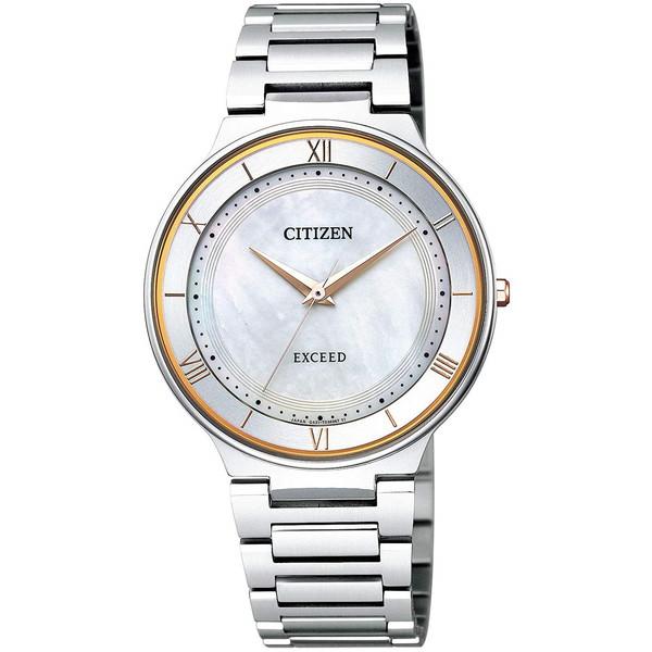 【送料無料】CITIZEN(シチズン) AR0080-58P EXCEED [エコ・ドライブ電波時計(メンズ)]