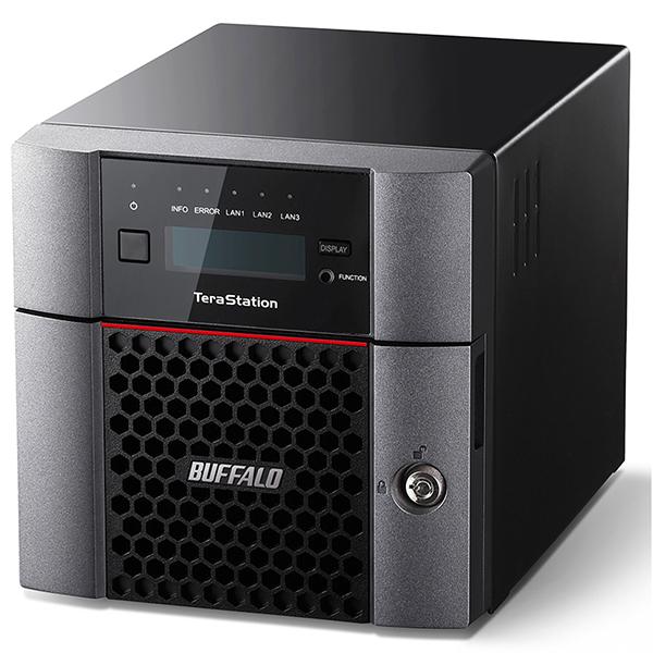 【送料無料】BUFFALO TS5210DN0202 TeraStation [法人向けNAS (2TB 2ドライブ)]【同梱配送不可】【代引き不可】【沖縄・離島配送不可】