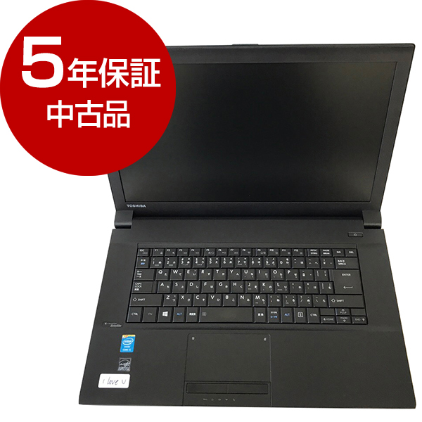 【送料無料】【 中古品 5年間保証 Office 付き 】 東芝 Satellite B554/K [ノートパソコン 15.6型 HDD320GB 4GBメモリ DVDマルチドライブ Wi-Fi ] 【アウトレット】