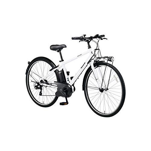 【送料無料】PANASONIC BE-ELVS77-F クリスタルホワイト ベロスター [電動スポーツバイク(700×38C・外装7段)]【同梱配送不可】【代引き不可】【本州以外配送不可】