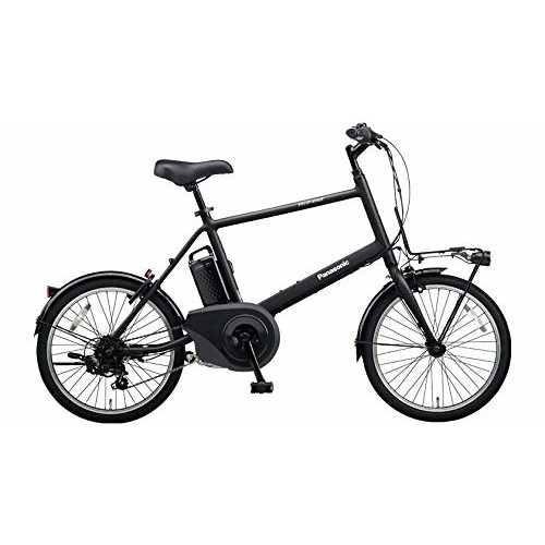 【送料無料】PANASONIC BE-ELVS07-B ミッドナイトブラック ベロスター・ミニ [電動スポーツバイク(20×1.5HE・外装7段)]【同梱配送不可】【代引き不可】【本州以外配送不可】