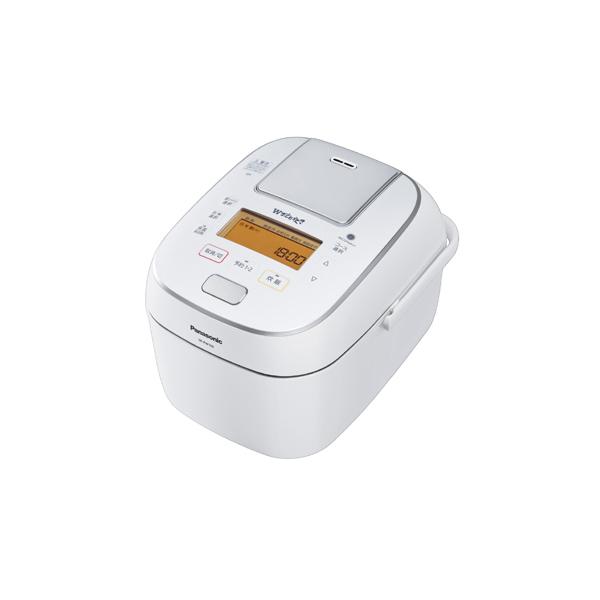 【送料無料】PANASONIC SR-PW108-W ホワイト Wおどり炊き [可変圧力IHジャー炊飯器 (5.5合炊き)]