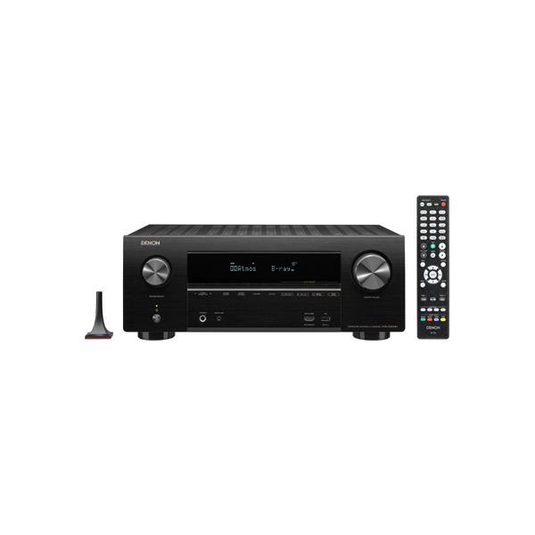 【送料無料】DENON AVR-X2500H-K ブラック [AVサラウンドレシーバー (7.2ch)]
