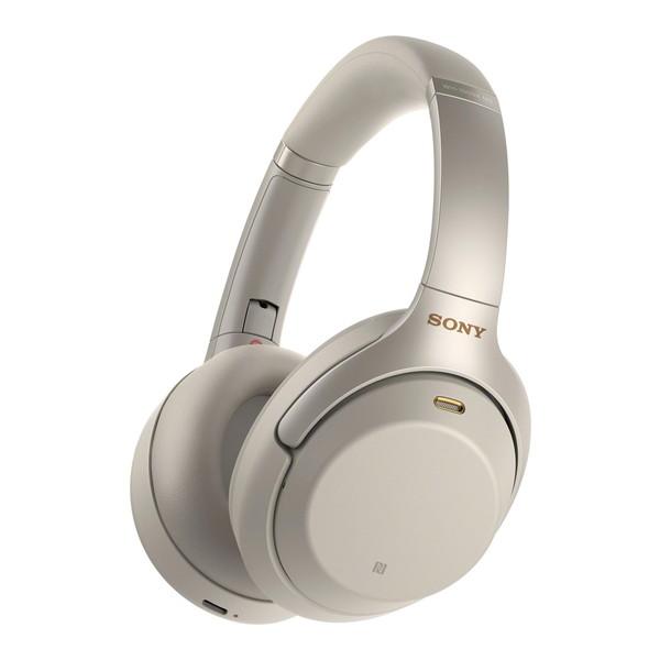 SONY WH-1000XM3SM プラチナシルバー [ダイナミック密閉型ヘッドホン(Bluetooth対応・ハイレゾ音源対応・ノイズキャンセリング対応)]