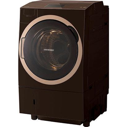 【送料無料】東芝 TW-127X7L(T) グレインブラウン ZABOON [ドラム式洗濯乾燥機 (洗濯12.0kg/乾燥7.0kg) 左開き ウルトラファインバブルW搭載 ]
