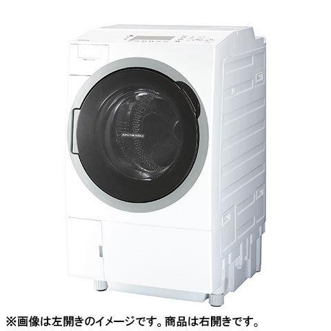 【送料無料】東芝 TW-127V7R グランホワイト ZABOON [ドラム式洗濯乾燥機 (洗濯12.0kg/乾燥7.0kg) 右開き ウルトラファインバブルW搭載 ]