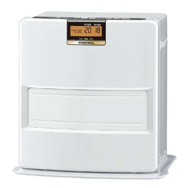 【送料無料】コロナ FH-VX3618BY-W パールホワイト [石油ファンヒーター(木造10畳/コンクリート13畳まで)]