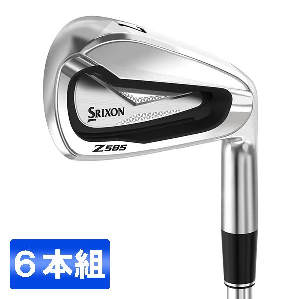 【送料無料】DUNLOP(ダンロップ) スリクソン Z585 アイアンセット6本組 #5~9、PW) N.S.PRO 950GH DST スチールシャフト フレックス:S 【日本正規品】