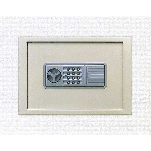 【送料無料】エーコー WS-A4PHN WALL SAFE [壁金庫(テンキー式)]【同梱配送不可】【代引き不可】【沖縄・離島配送不可】