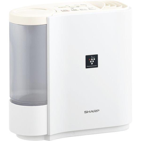 【送料無料】SHARP HV-H30-W ホワイト系 [気化式加湿器(木造5畳まで/プレハブ洋室8畳まで)]