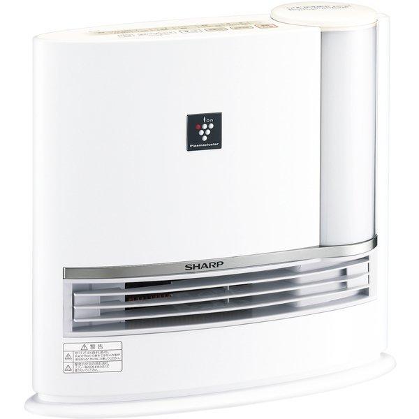 【送料無料】SHARP(シャープ) HX-H120-W ホワイト系 加湿セラミックヒーター (暖房約8畳/加湿14畳) プラズマクラスター7000/ハイブリッド式/ウイルス/除電/節電/消臭/暖房器具/アイボリーホワイト/お手入れカンタン