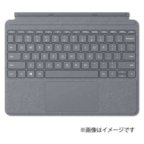 マイクロソフト KCS-00019 プラチナ Surface Go Signature タイプ カバー マイクロソフト Microsoft 純正 日本語キーボード ガラス製トラックパッド 独立型キーボード マグネット着脱 アルカンターラ素材