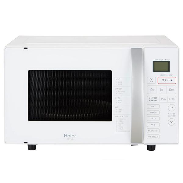 【送料無料】オーブンレンジ 一人暮らし 16l 電子レンジ 16l ハイアール JM-V16D-W ホワイト 電子オーブンレンジ ワンタッチ自動あたため エコ煮込み 新生活