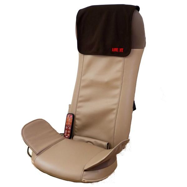 マッサージ器 首 肩甲骨 腰 肩 シートマッサージャー シートマッサージ 座椅子 マッサージ ライフフィット Life101 寝てマッサージ 健康 健康器具