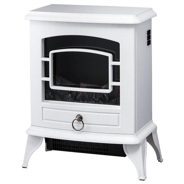 【送料無料】スリーアップ株式会社 CH-T1840WH ホワイト Nostalgie (ノスタルジア) [暖炉型ヒーター]