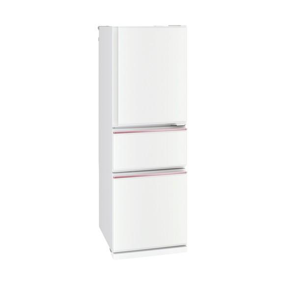 【送料無料】MITSUBISHI MR-CX27D-W CXシリーズ 右開き 片開きタイプ 272L 3ドア冷蔵庫 【1~2人向け】パールホワイト [冷蔵庫(272L・右開き)] 【代引き・後払い決済不可】【離島配送不可】