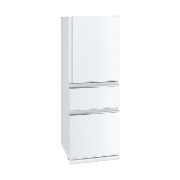 MITSUBISHI MR-CX33D-W パールホワイト [冷蔵庫(330L・右開き)] 【代引き・後払い決済不可】【離島配送不可】