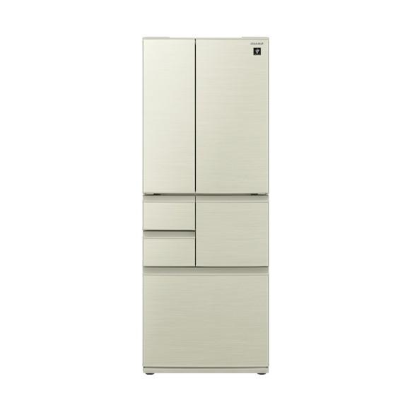 【送料無料】SHARP SJ-F501E ゴールド系 [冷蔵庫(502L・フレンチドア)] 【代引き・後払い決済不可】【離島配送不可】