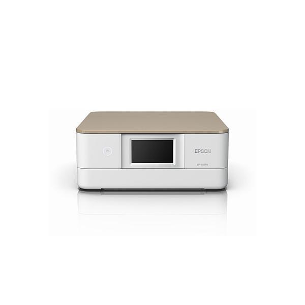 【送料無料】EPSON EP-881AN ニュートラルベージュ Colorio(カラリオ) [インクジェット複合機(A4カラープリント対応・コピー/スキャナ)]