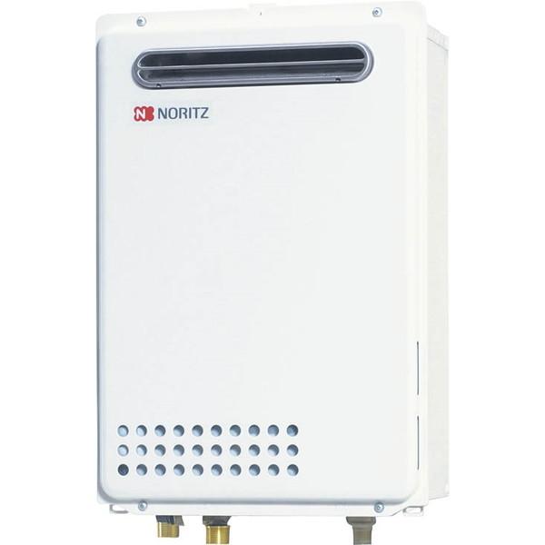 【送料無料】NORITZ GQ-2439WS-1 BL-13A [ガス給湯器 BL認定品(都市ガス用・給湯専用・24号・屋外壁掛形・オートストップ)]