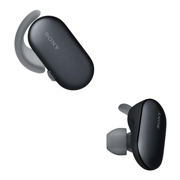 【送料無料】SONY WF-SP900B ブラック [完全ワイヤレス Bluetoothイヤホン (防水・防塵対応)]