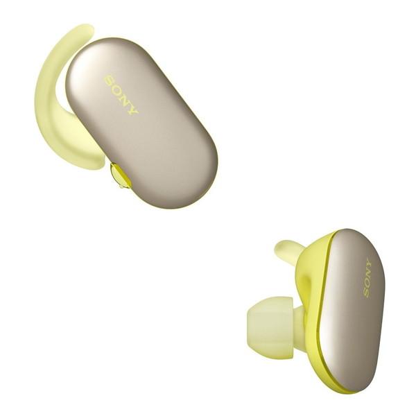 【送料無料】SONY WF-SP900Y イエロー [完全ワイヤレス Bluetoothイヤホン (防水・防塵対応)]