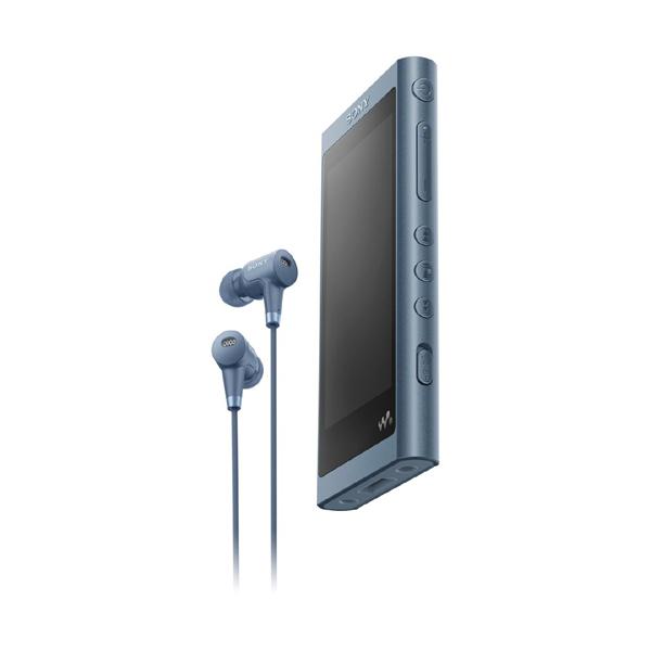 【送料無料】SONY NW-A56HN-L ムーンリットブルー Walkman(ウォークマン) A50シリーズ [ハイレゾ音源対応 ポータブルオーディオプレーヤー (32GB) IER-NW500N同梱モデル]