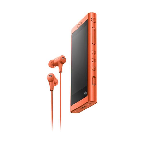 【送料無料】SONY NW-A56HN-R トワイライトレッド Walkman(ウォークマン) A50シリーズ [ハイレゾ音源対応 ポータブルオーディオプレーヤー (32GB) IER-NW500N同梱モデル]