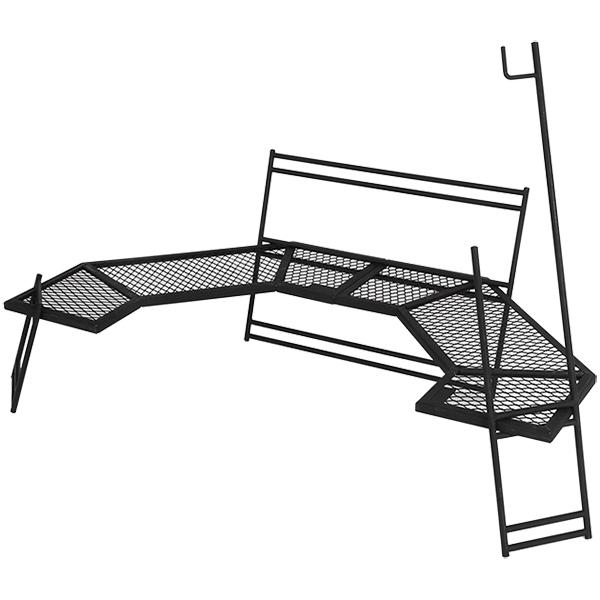 【送料無料】DOD TB1-572-BK ブラック テキーラ 180 [テーブル]