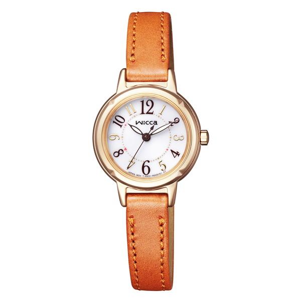 【送料無料】CITIZEN(シチズン) KP3-627-10 wicca(ウィッカ) [ソーラーテック腕時計(レディース)]