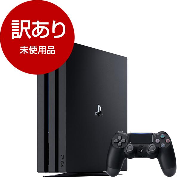 【送料無料】【未使用品】SIE CUH-7200BB01(保証開始2018-09) ジェット・ブラック [PlayStation4 Pro(HDD1TB)]【アウトレット】