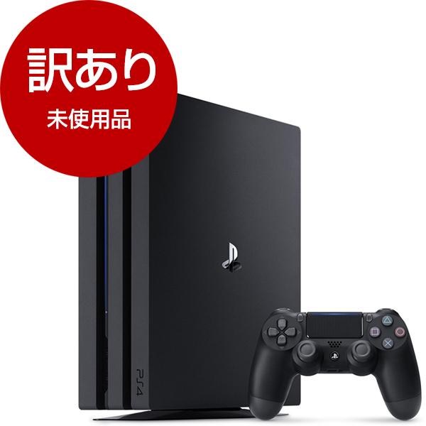 【送料無料】【未使用品】SIE CUH-7100BB01(保証開始2018-10) ジェット・ブラック [PlayStation4 Pro(HDD1TB)]【アウトレット】