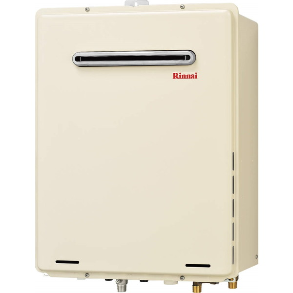 フルオートタイプのガスふろ給湯器です Rinnai RUF-A2005AW A チープ -LP ガス給湯器 20号 屋外壁掛け ギフト PS設置型 プロパンガス用 フルオート