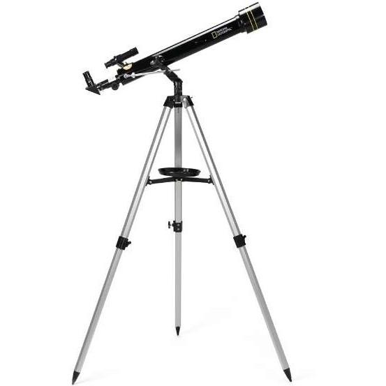 屈折式天体望遠鏡 (口径60mm経緯台) 90-11100 ナショナルジオグラフィック 初心者 エントリーモデル 小学生 子供 天体観測 星 惑星 理科