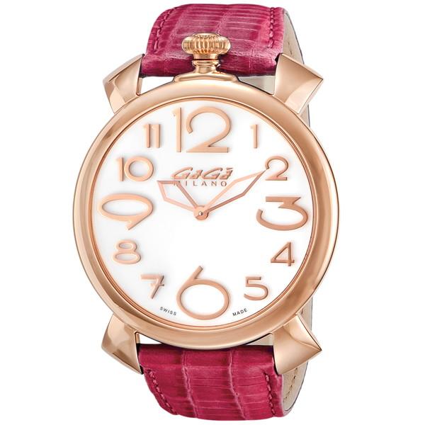 【送料無料】GAGA milano(ガガミラノ) 5091.06 MANUALE THIN 46MM [クォーツ腕時計(メンズウオッチ)] 【並行輸入品】