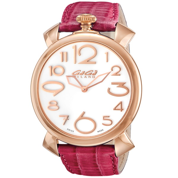 GAGA milano(ガガミラノ) 5091.06 MANUALE THIN 46MM [クォーツ腕時計(メンズウオッチ)] 【並行輸入品】