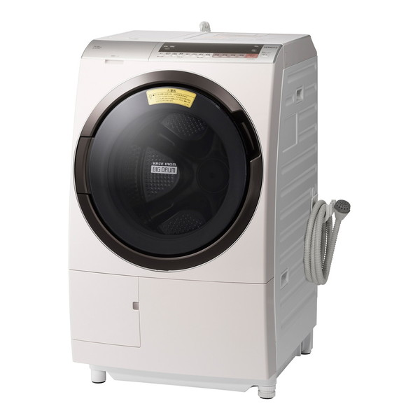 日立 BD-SX110CL ロゼシャンパン ヒートリサイクル 風アイロン ビッグドラム [ななめ型ドラム式洗濯乾燥機 (洗濯11.0kg/乾燥6.0kg) 左開き] 【代引き・後払い決済不可】【離島配送不可】