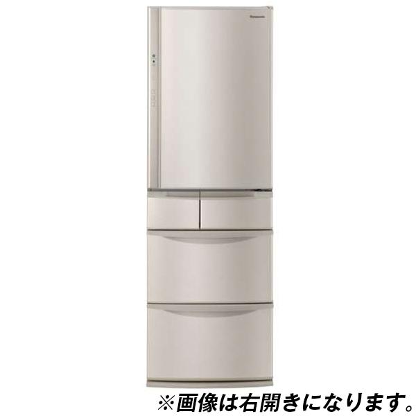 【送料無料】PANASONIC NR-E414VL シャンパン [冷蔵庫(406L・左開き)]