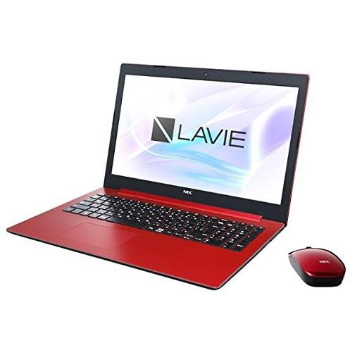 NEC PC-NS700KAR カームレッド LAVIE Note Standard [ノートパソコン 15.6型ワイド液晶 HDD1TB ブルーレイドライブ]