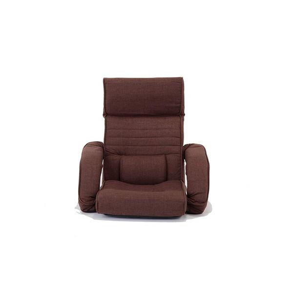 【特価】 【送料無料 (9816110)】ファミリー・ライフ ゆったりくつろげる肘掛付きリクライニング座椅子ブラウン (9816110), K.jewel:bb3d44d2 --- supercanaltv.zonalivresh.dominiotemporario.com