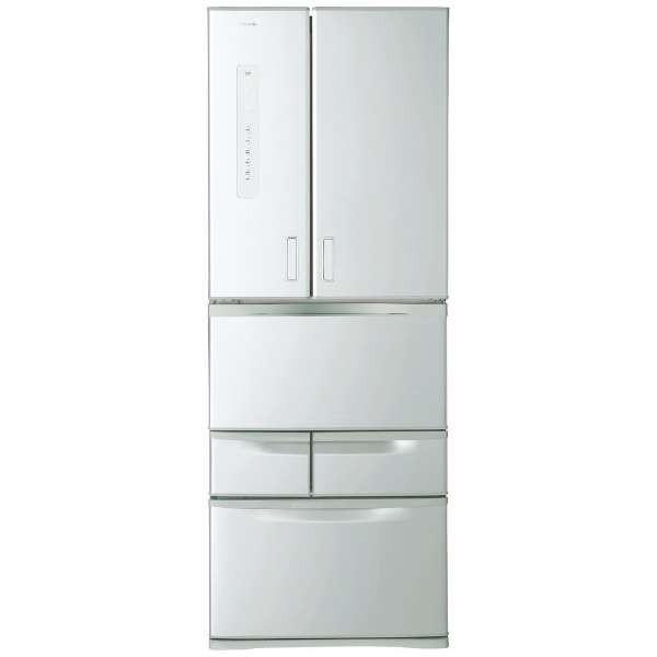 【送料無料】東芝 GR-M50FX シルバー VEGETA(ベジータ) [冷蔵庫 (501L・フレンチドア)]